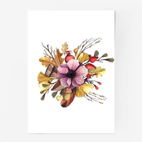 Постер «Осенний мотив»