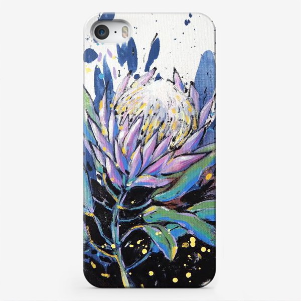 Чехол iPhone «Королевская протея II»