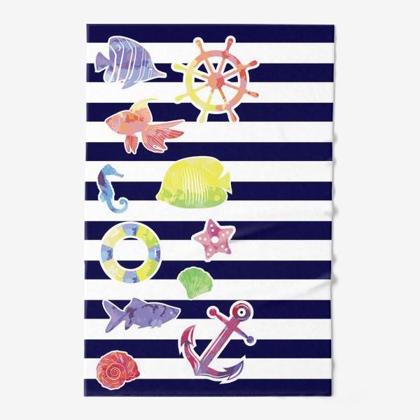 Полотенце «В мире морском 3»