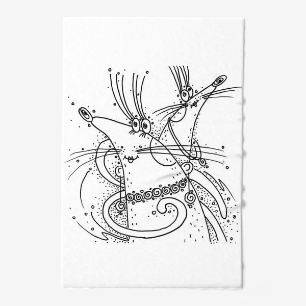 Полотенце «Мышки подружки»