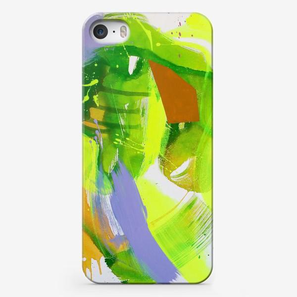 Чехол iPhone «Неоновый взрыв»