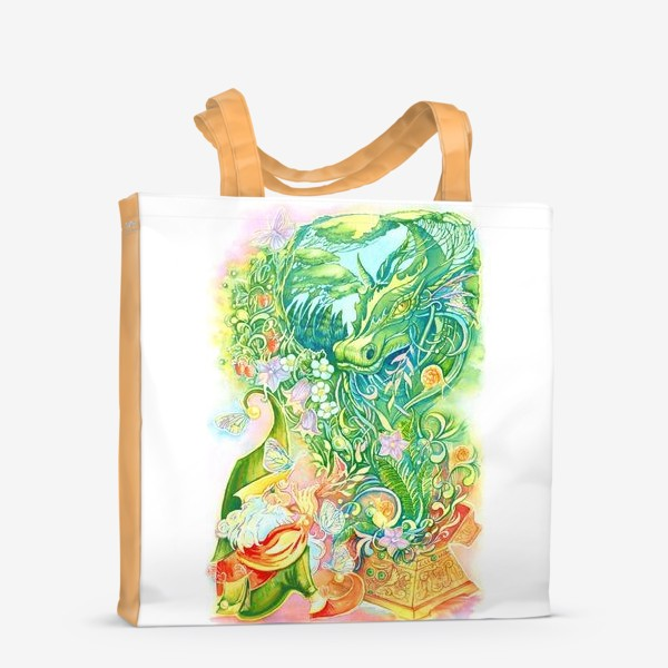 Сумка-шоппер «Тайны леса»