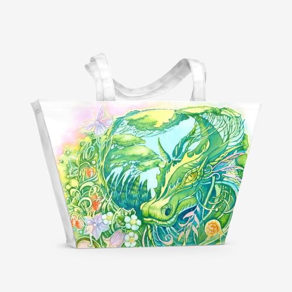 Пляжная сумка «Тайны леса»