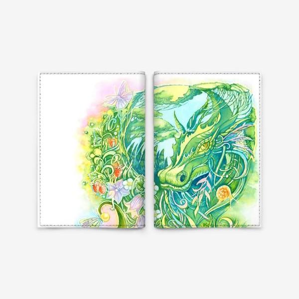 Обложка для паспорта «Тайны леса»