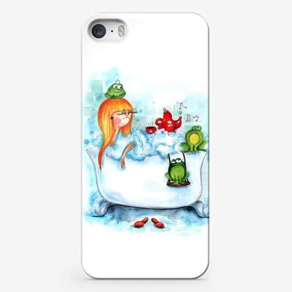 Чехол iPhone «Ква-ква»