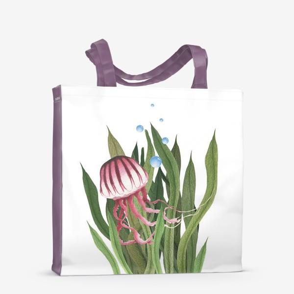 Сумка-шоппер «Медуза в водорослях»