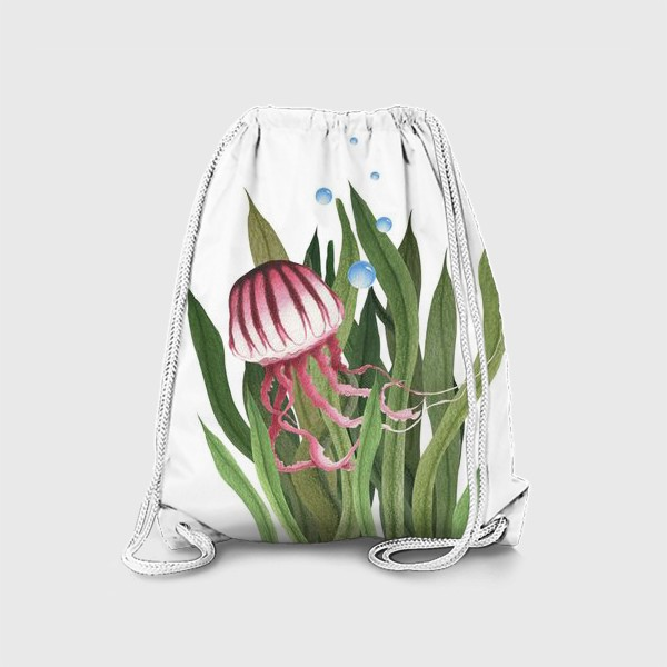 Рюкзак «Медуза в водорослях»