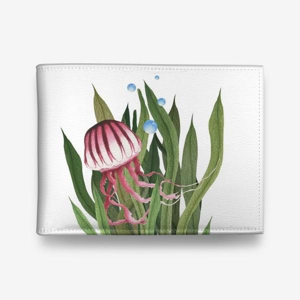 Кошелек «Медуза в водорослях»