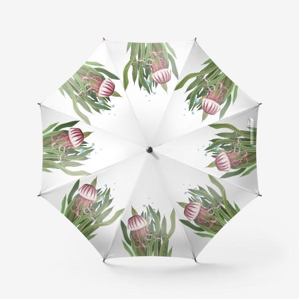 Зонт «Медуза в водорослях»