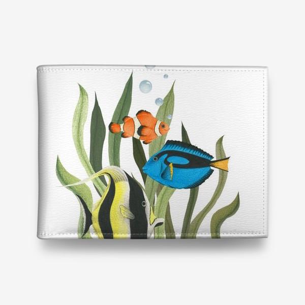 Кошелек «Океанические рыбки в водорослях»