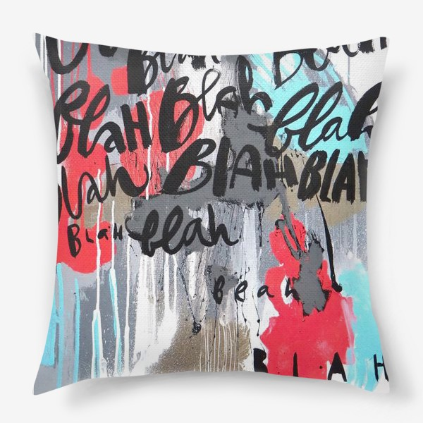 Подушка «Бла бла»