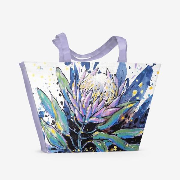 Пляжная сумка «Королевская протея II»
