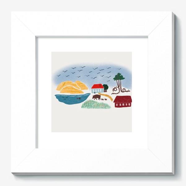 Картина «Привет с Балтийского моря - Куршская коса»