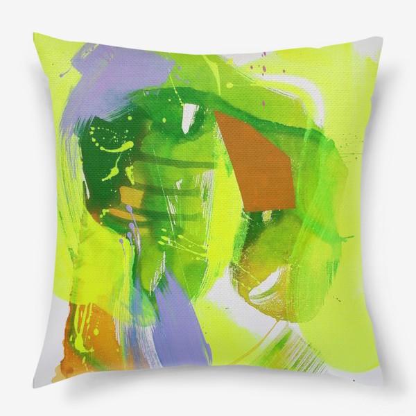 Подушка «Неоновый взрыв»