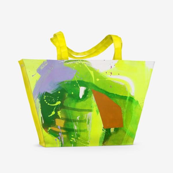 Пляжная сумка «Неоновый взрыв»