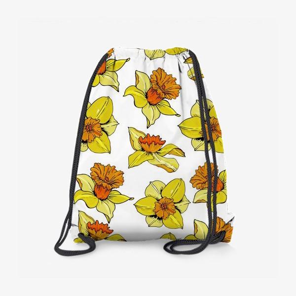 Рюкзак «Нарциссы головки  пасха»