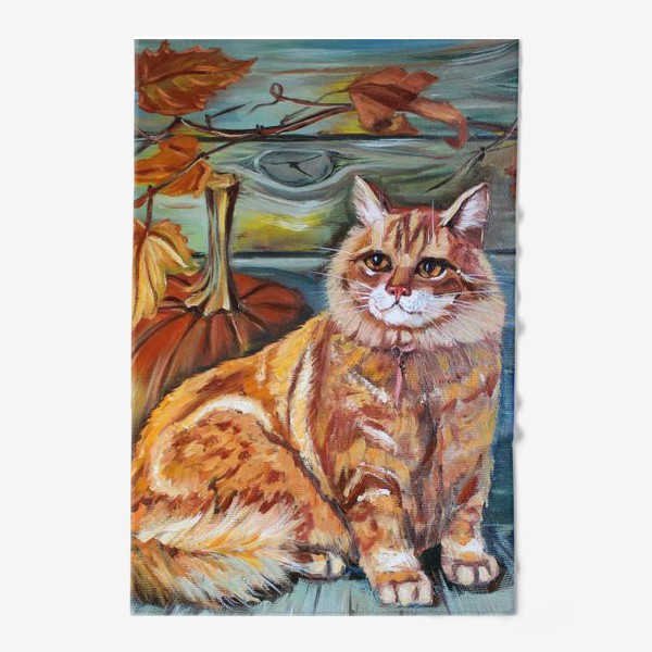 Полотенце «Рыжий кот»