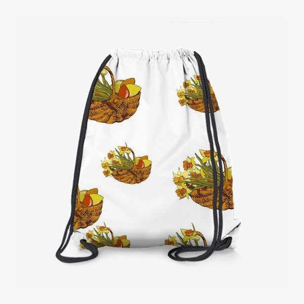 Рюкзак «Нарциссы пасха букетики»