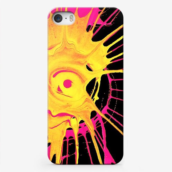 Чехол iPhone «Абстракция, движение, круг»