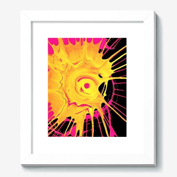 Картина «Абстракция, движение, круг»