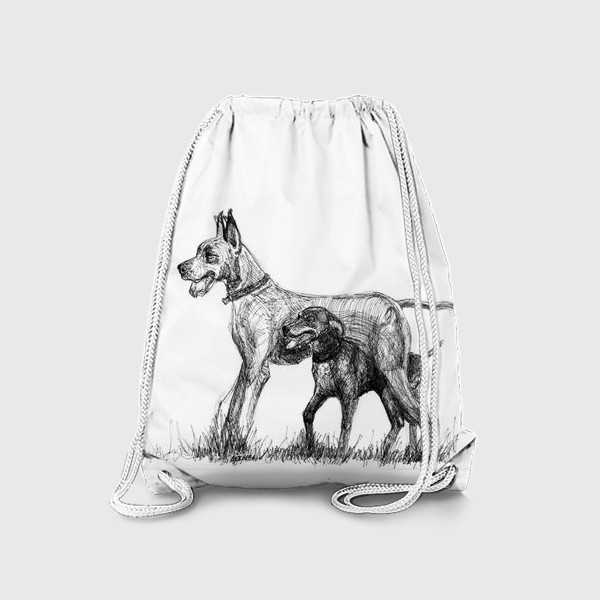 Рюкзак «Дог и курцхаар»