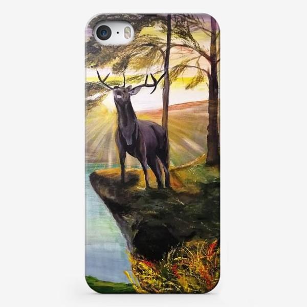 Чехол iPhone «Изюбр»