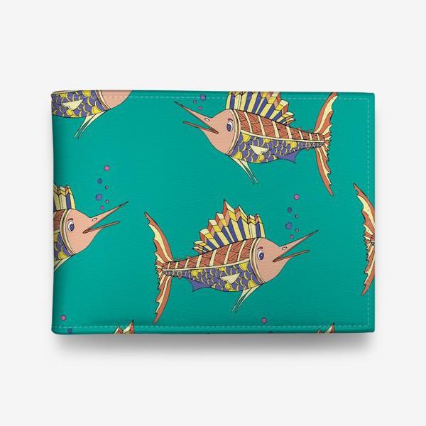 Кошелек «рыбки в море»