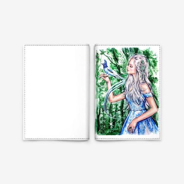 Обложка для паспорта «Эльфийка»