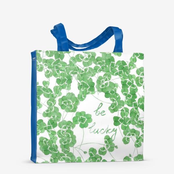 Сумка-шоппер «Be Lucky!»