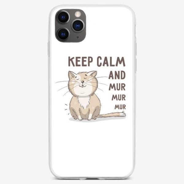 Чехол iPhone «Довольный котик»