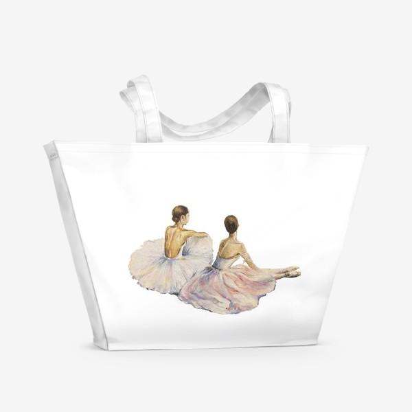 Пляжная сумка «Балерины»