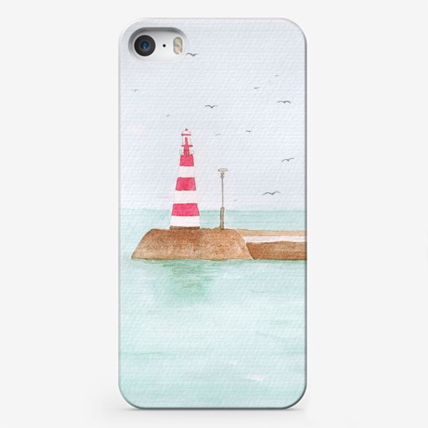 Чехол iPhone «Маяк в тихой гавани»