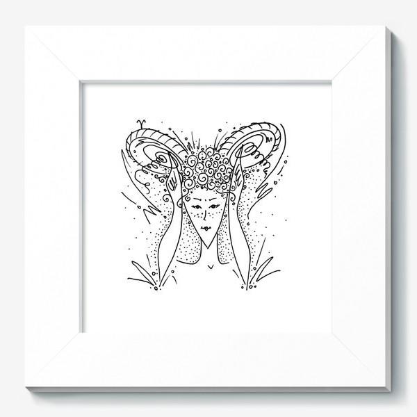 Картина «Овен зодиак»