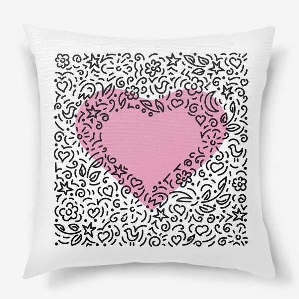 Подушка «Время любви,»