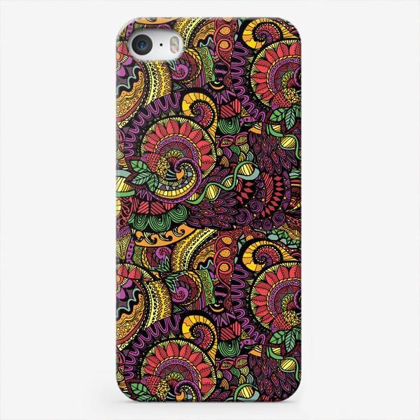 Чехол iPhone «Яркий этнический паттерн»