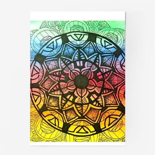 Постер «Цветочный орнамент »