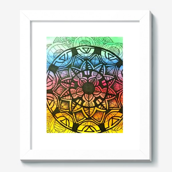 Картина «Цветочный орнамент »