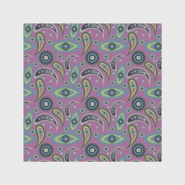 Скатерть «abstract seamless floral pattern exotic shapes»