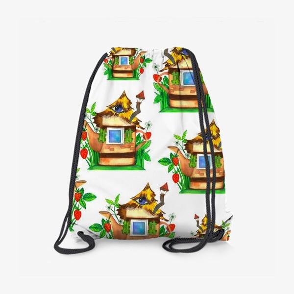 Рюкзак «весенние домики»