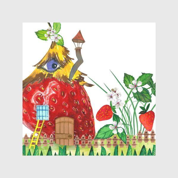 Скатерть «земляничный домик»