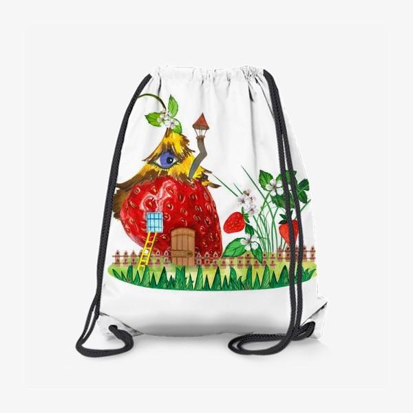 Рюкзак «земляничный домик»
