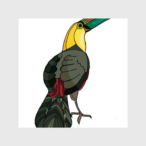 Шторы «Птица тукан»