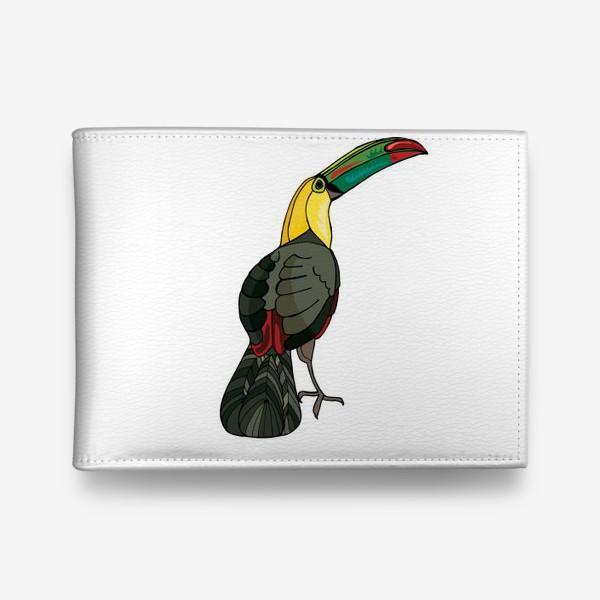 Кошелек «Птица тукан»