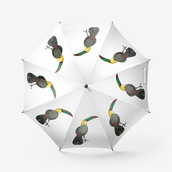 Зонт «Птица тукан»