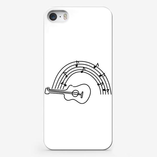 Чехол iPhone «Музыка. Гитара.»
