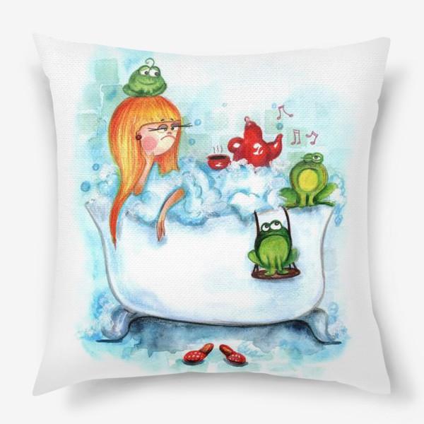 Подушка «Ква-ква»