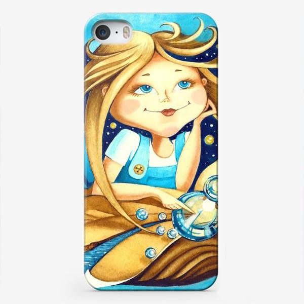 Чехол iPhone «Девочка, мечтательница, фантазерка»