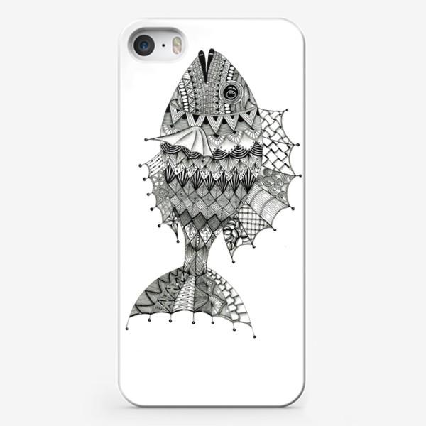 Чехол iPhone «Хитрая рыба»
