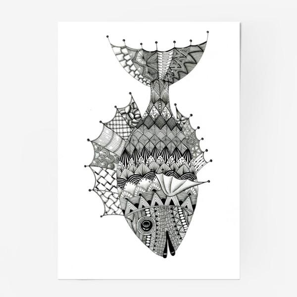 Постер «Хитрая рыба»
