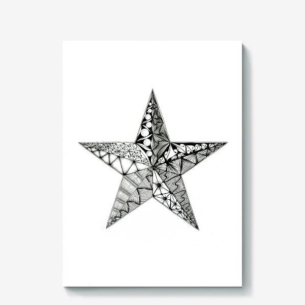 Холст «Яркая звезда»